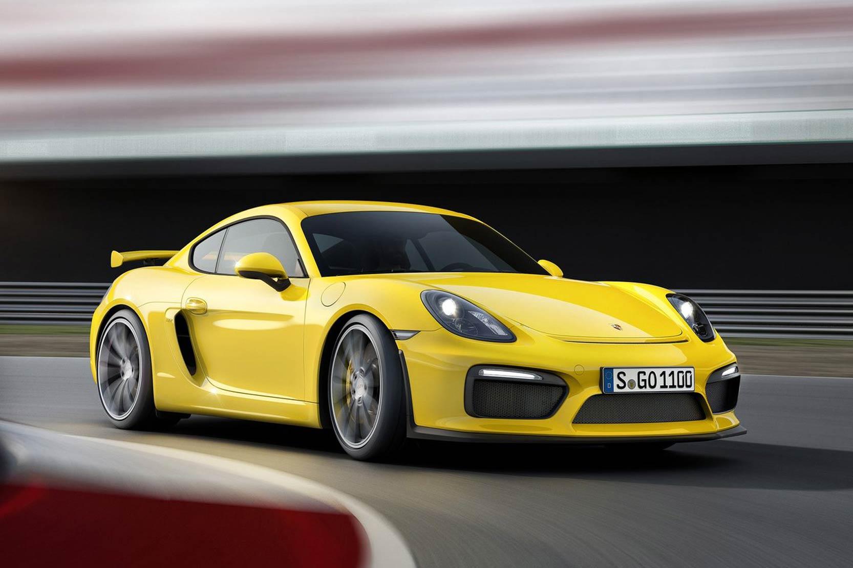 Porsche Cayman GT4: 3.8