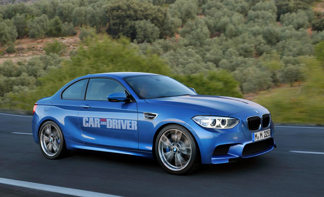 Overview of 2015 BMW M2