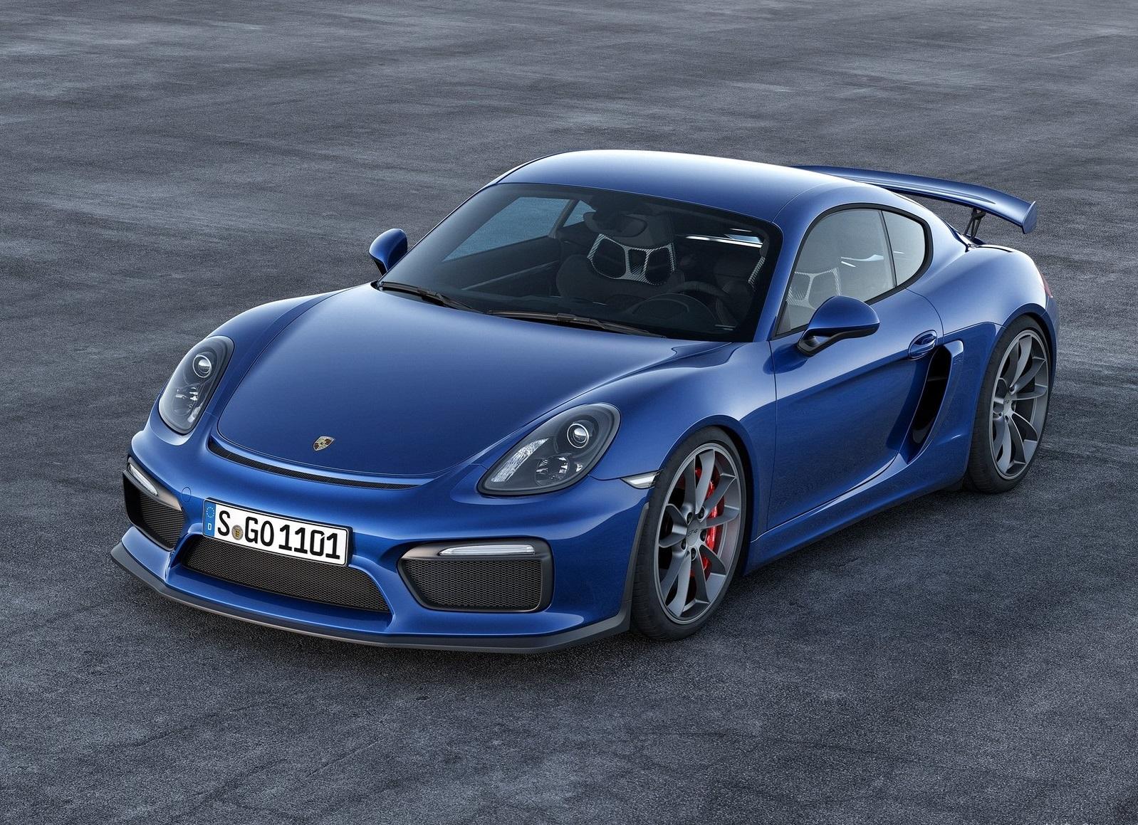 Porsche Cayman GT4 info