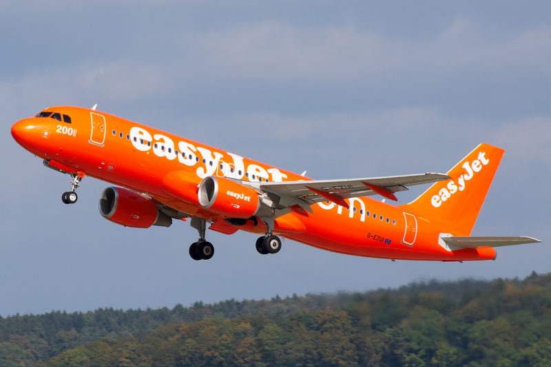 booking on Easyjet