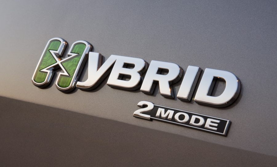 the motorization of the hybrid cars