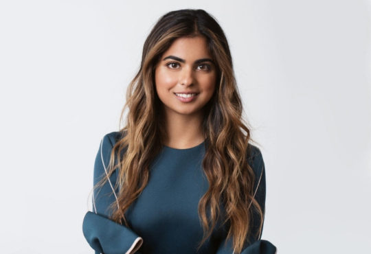 portrait of Isha Ambani