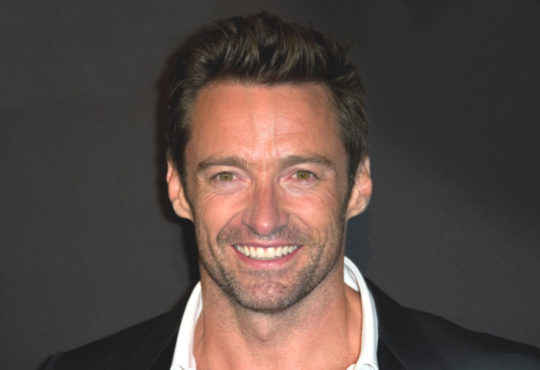 Portrait of Actor Hugh Jackman