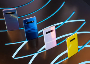 New Samsung S10 line up with colourful smartphones