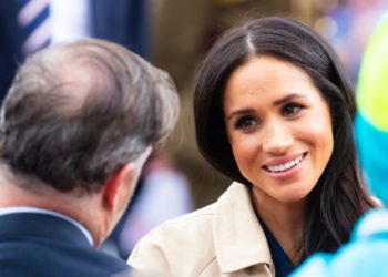 Meghan Markle, Duchess of Sussex meets fans at Government House in Melbourne, Australia