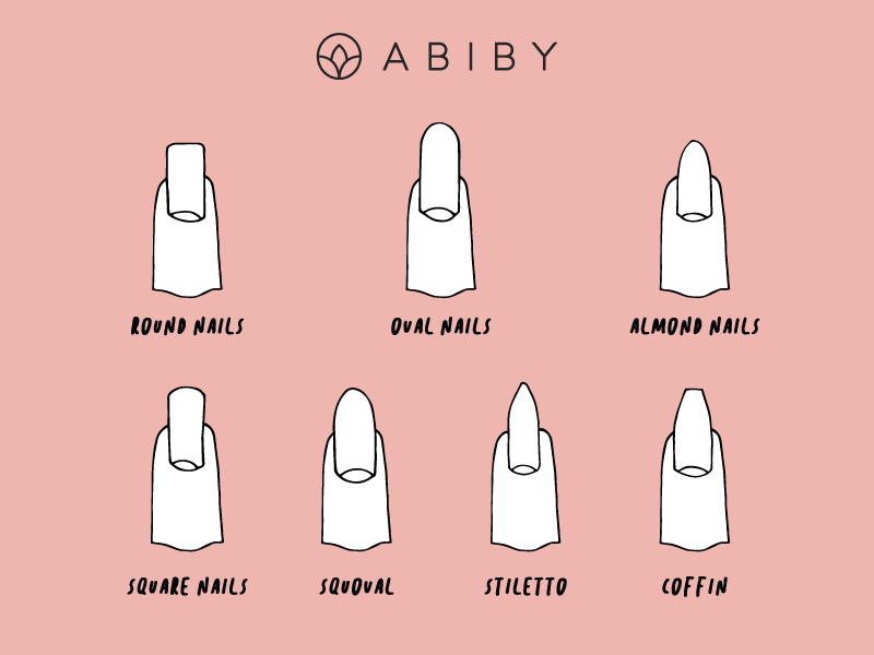 Abiby Nail Shapes
